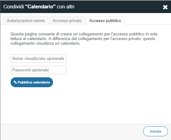 Fare Un Calendario Con Foto.Kb52167 Come Condividere Un Calendario Di Worldclient Con