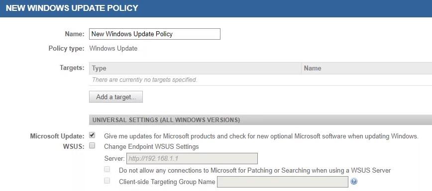 KB52186: Windows 10 Patch Management con Datto RMM